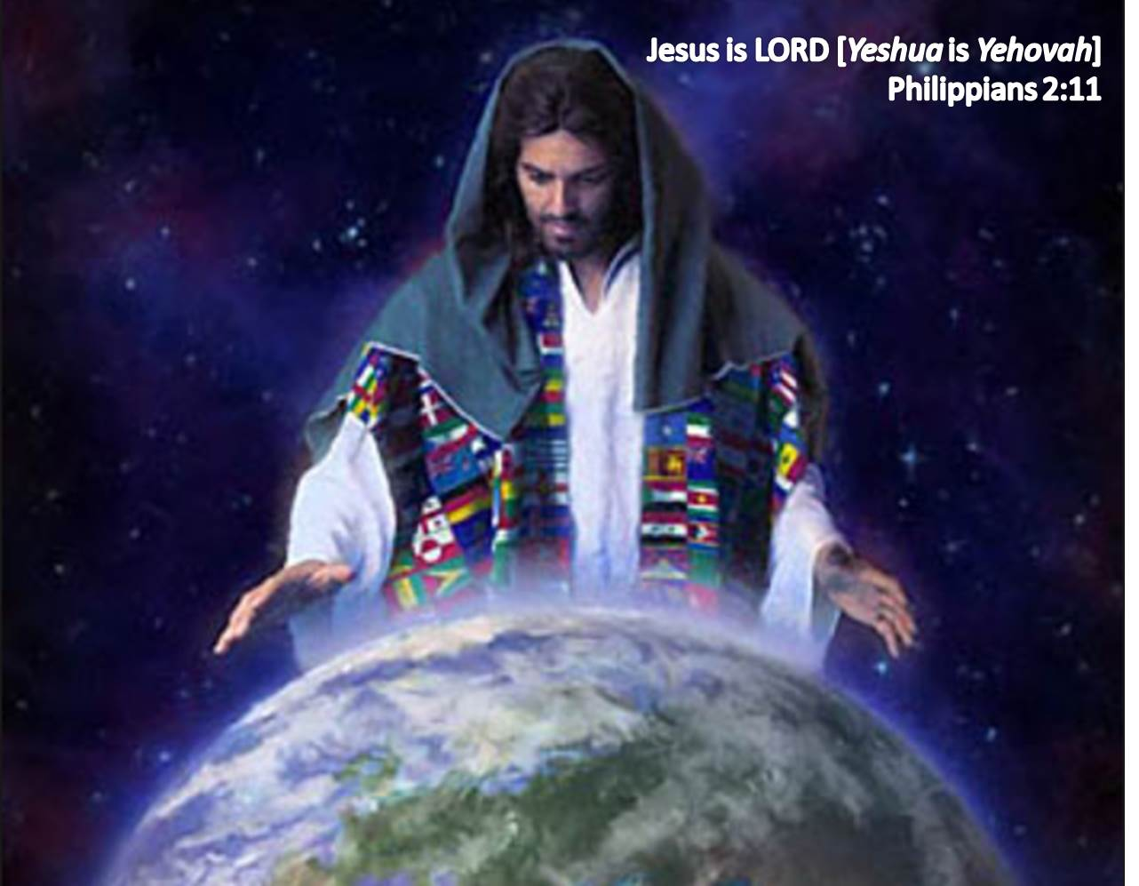Jesus is LORD [Yeshua is Yehovah]