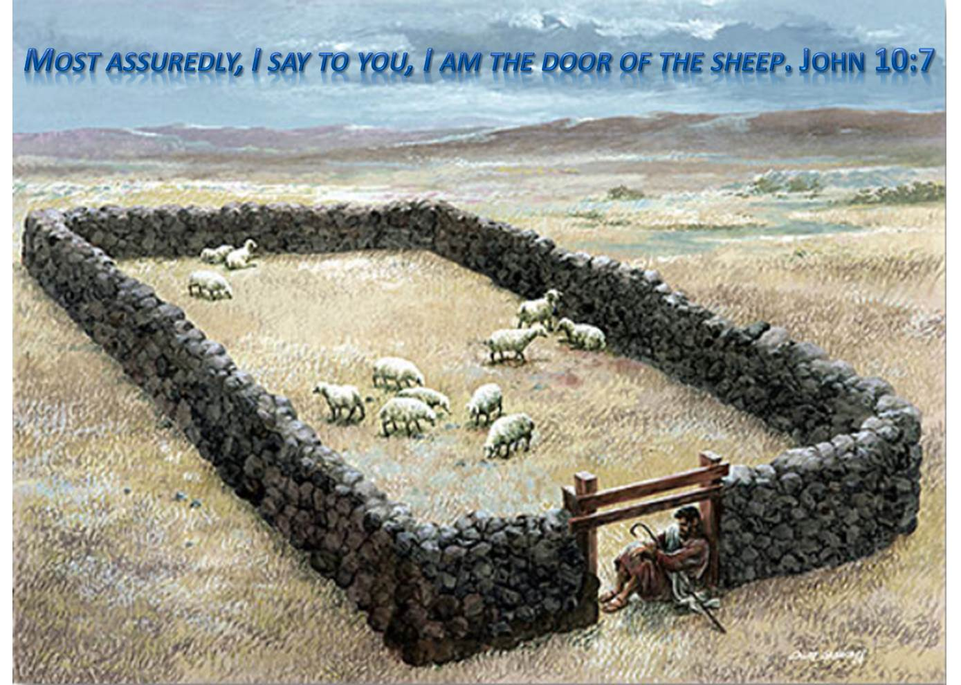 Yeshua is the Door