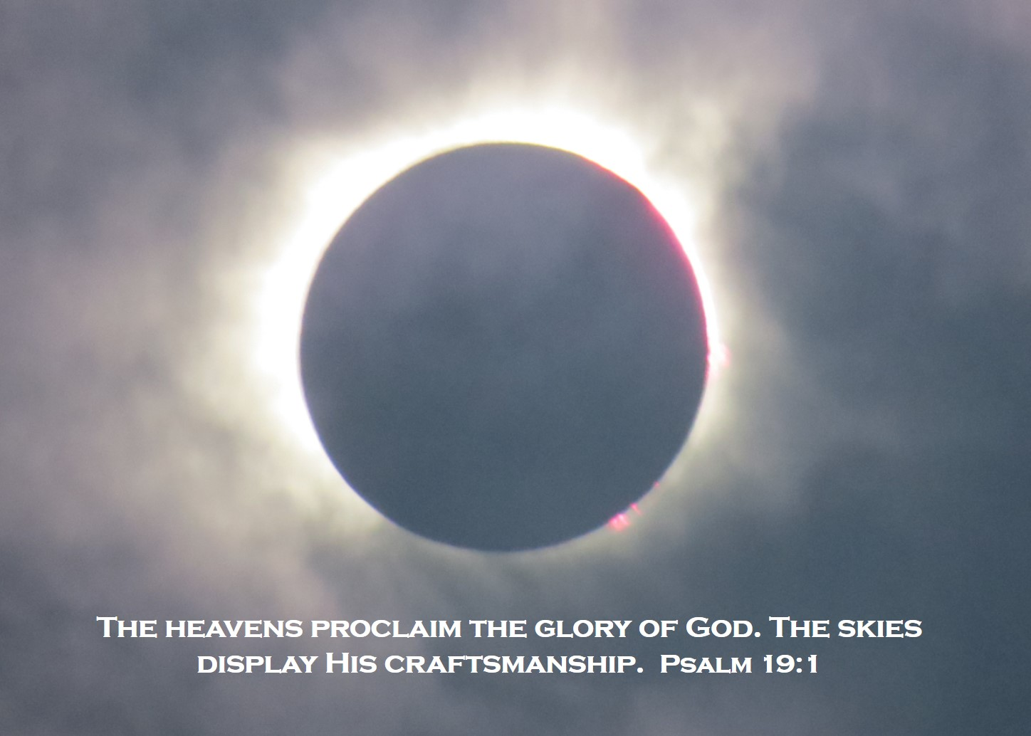 YHVH's Glory in the Eclipse